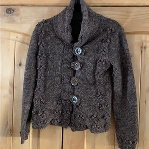 Chadwick Button up Sweater Sz S